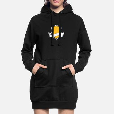 Family Crest Template: Family Crest - Women's Hoodie Dress