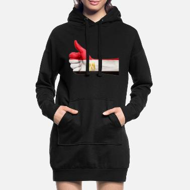 Egypt EGYPT / EGYPT - Women's Hoodie Dress