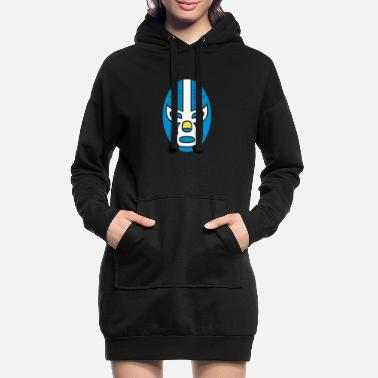 Mask Mask - Women's Hoodie Dress