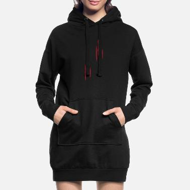 Scratch Scratches - cicatrices - Robe sweat Femme
