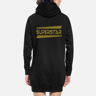 Superstar Superstar - Hoodie kjole dame