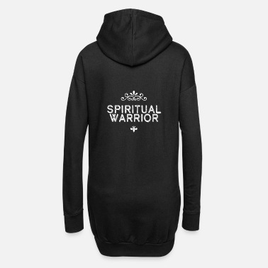 Spiritual Spiritual Fighter Spiritual World Spiriutality - Women's Hoodie Dress
