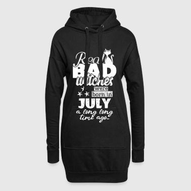 are born in July witch's birthday bday - Hoodie Dress