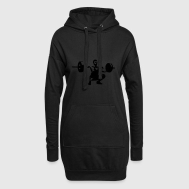 Mathias stamp - Hoodie Dress