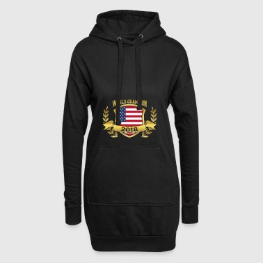 Weltmeister wm champion team 2018 USA Amerika pn - Hoodie-Kleid