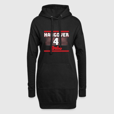 Hangover Party Oslo Norway Travel - Hoodie Dress