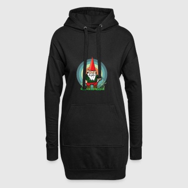 Wicked and common garden gnome - Hoodie Dress
