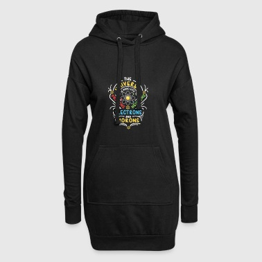 Universe is made of Protons Neutrons Electrons - Hoodie-Kleid