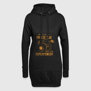 I Can Freeze Time Superpower Gift - Hoodie Dress