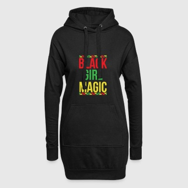 Black Girl Magic African - Hoodie Dress