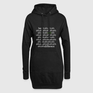 Be different from the other cyclists! - Hoodie Dress