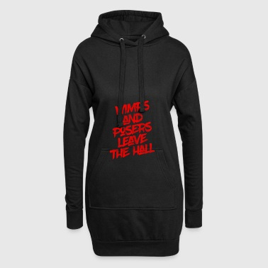 ** Limited Edition ** Wimps and Posers - Hoodie Dress
