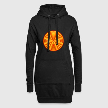 psychodelic abstrac logo - Hoodie Dress