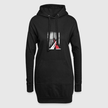 American sail sailing americas cup match Race foil - Hoodie Dress