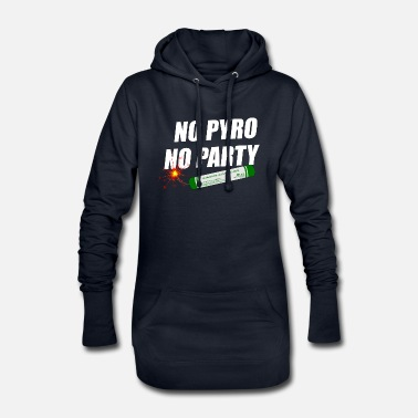 Pyro Pyro Party for ever Fireworks - Hoodie-Kleid