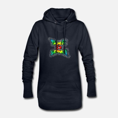 Old School Old school back to school - Women's Hoodie Dress