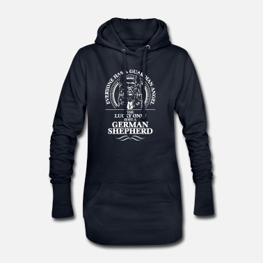 GERMAN SHEPHERD Guardian Angel - Women's Hoodie Dress