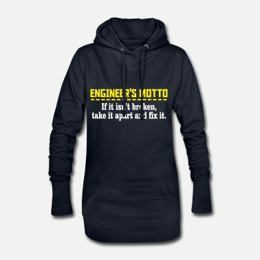 Motto Engineers motto - Hoodie kjole dame