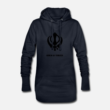 Sikh SIKH AND TIRED - Hoodie-Kleid