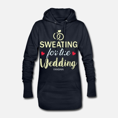 Wedding Party Wedding bachelorette party marriage love gift - Women's Hoodie Dress