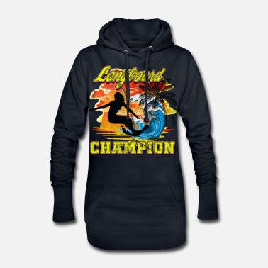 Gagnant Surf Longboard CHAMPION - Robe sweat Femme