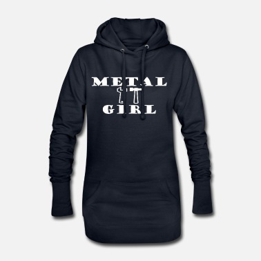 Heavy Metal METAL GIRL Heavy Metal - Robe sweat Femme