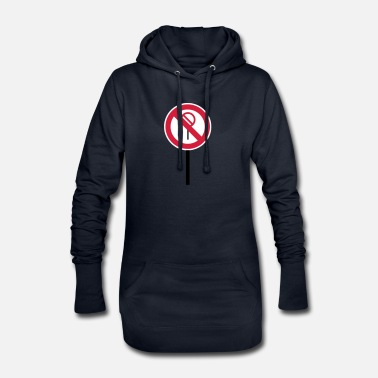 Prohibition Sign Prohibitions prohibited - Women's Hoodie Dress
