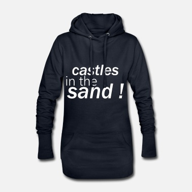 Sand castles in the sand - Women's Hoodie Dress