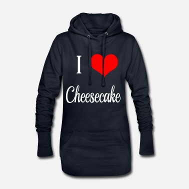 Cheesecake I Love cheesecake - Vestito felpa donna