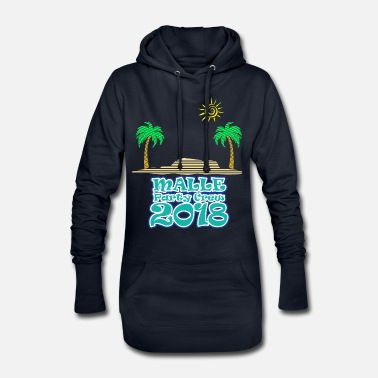 Bavaria Mallorca - party crew - Women's Hoodie Dress