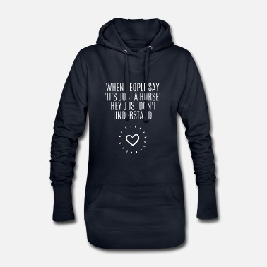 Sayings Horse Horse Love Horse Horse Rider Riding Say - Women's Hoodie Dress
