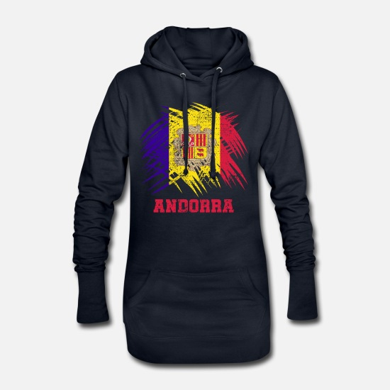 Birthday Hoodies & Sweatshirts - Andorra - Women's Hoodie Dress navy