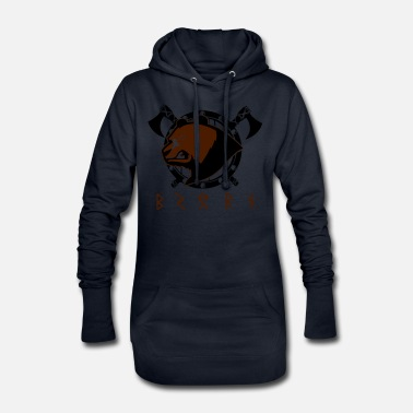 Viking Bear - Viking Bear - Women's Hoodie Dress