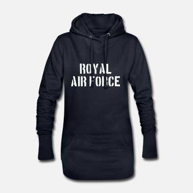 Royel Air Force - Pilot - Aircraft - Aircraft - Jet - Women's Hoodie Dress