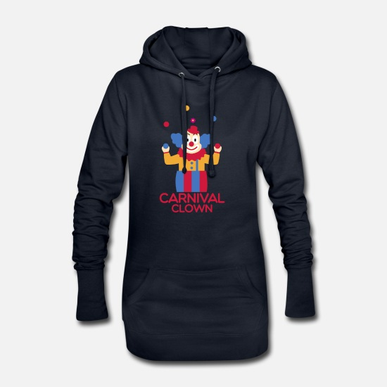Carneval Hoodies & Sweatshirts - Carnival carnival - Women's Hoodie Dress navy