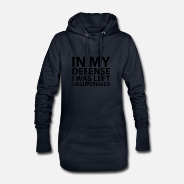 Was I Was Left Unsupervised - Robe sweat Femme