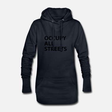Occupy Occuppy All Streets Urban Memes - Robe sweat Femme