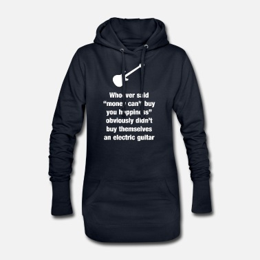 Guitar is luck - gift for guitarists - Women's Hoodie Dress