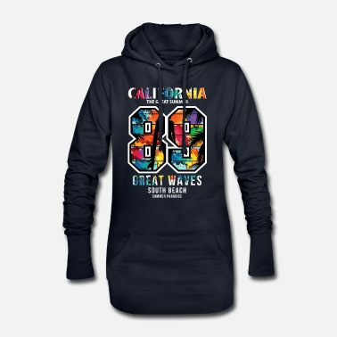 Californie Californie - Robe sweat Femme