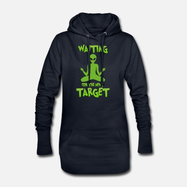 Alien Next target - Alien, Space, Planet - Women's Hoodie Dress