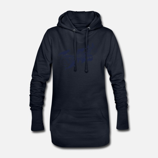 Development Hoodies & Sweatshirts - evolution - Women's Hoodie Dress navy