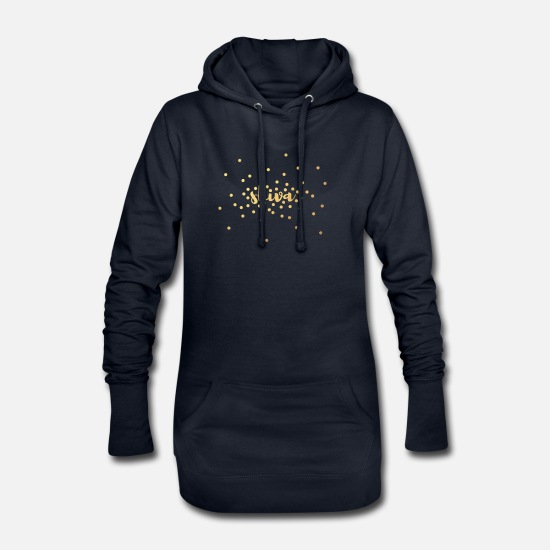 Décoration Sweat-shirts - Méditation de yoga Shiva Gold - Robe sweat Femme marine