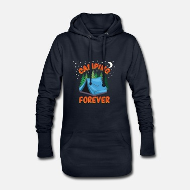 Travel Camping Forever - Women's Hoodie Dress