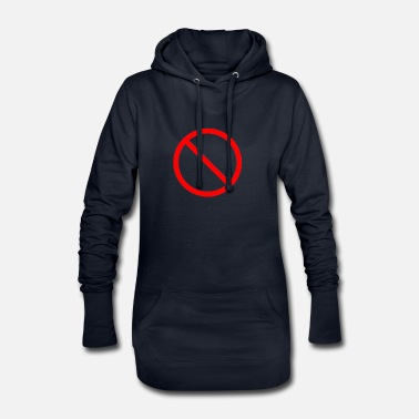 Prohibition Prohibition sign prohibited - Women's Hoodie Dress