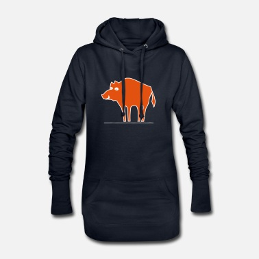 Sow sow - Women's Hoodie Dress