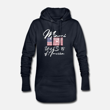 No Limit Miami United States of America Mojo Design T-Shirt - Women's Hoodie Dress