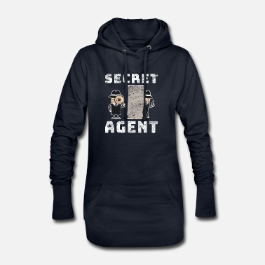 Costume Homme agent secret - Robe sweat Femme
