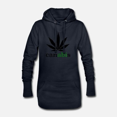 Cannabis Chemisier Canabis - Robe sweat Femme