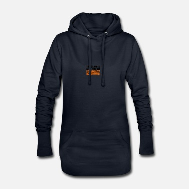 Personal personality - Women's Hoodie Dress