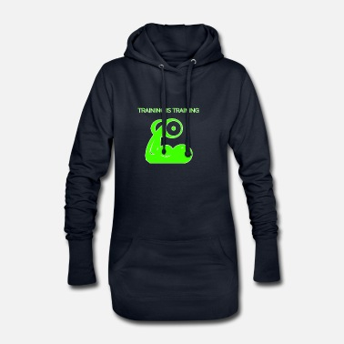 Train Training is training - Women's Hoodie Dress